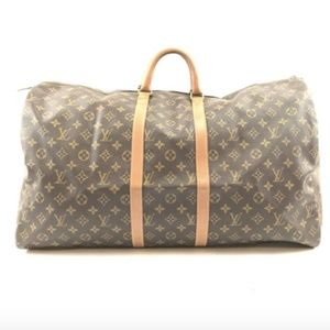 Keepall 60 Duffel Monogram Canvas Travel Bag